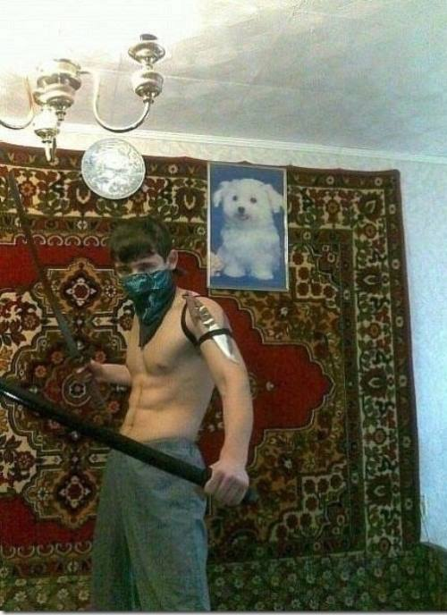 Russian Dating Photos Tough Guy