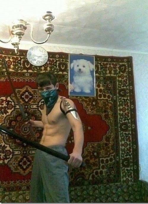 Russian Dating Photos Tough Guy