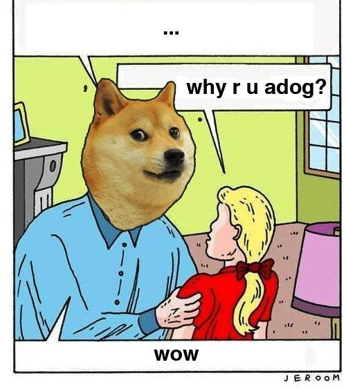 Why Are You A Dog Comic