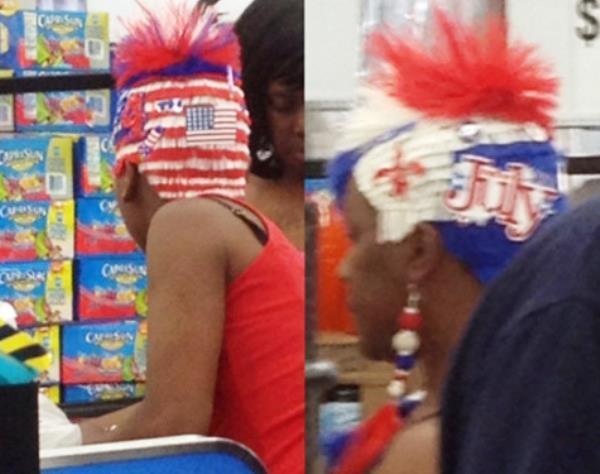 WTF Hair - People Of Walmart