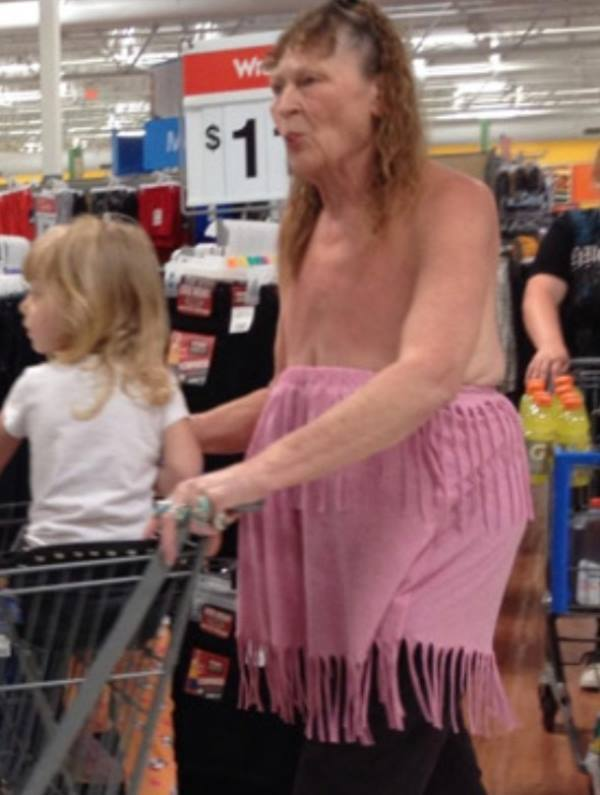 People Of Walmart: 35 Funny Photos Of Where Butt Cracks Rule