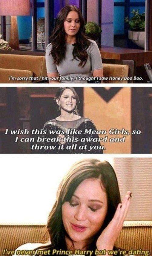 Funniest Jennifer Lawrence Moments Compilation