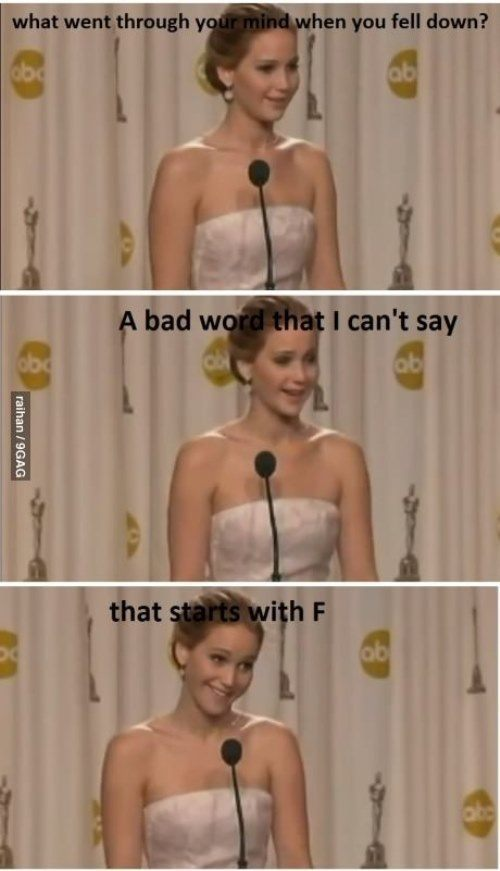 Funniest Jennifer Lawrence Moments At The Oscars