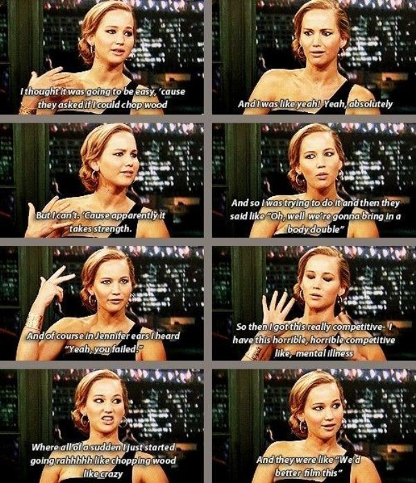 Funniest Jennifer Lawrence Pictures