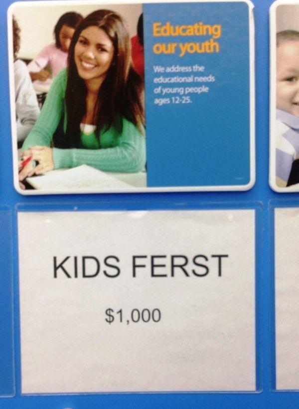 Kids Ferst