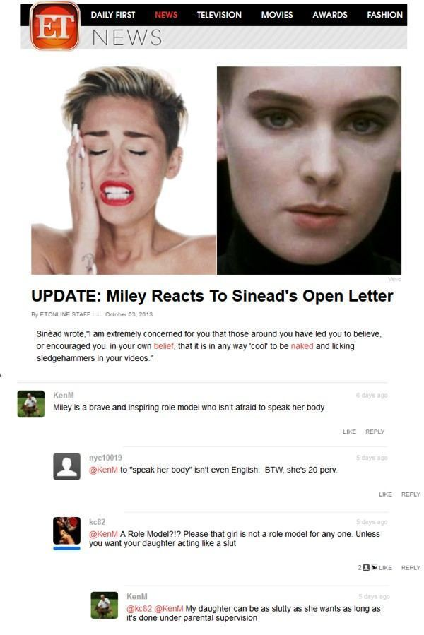 Miley Is Brave