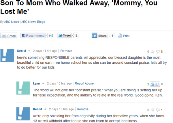Parenting Advice From Ken M