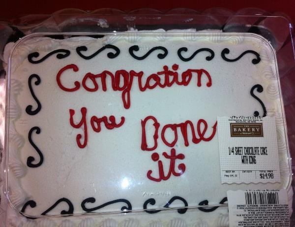 Walmart Cake Fail