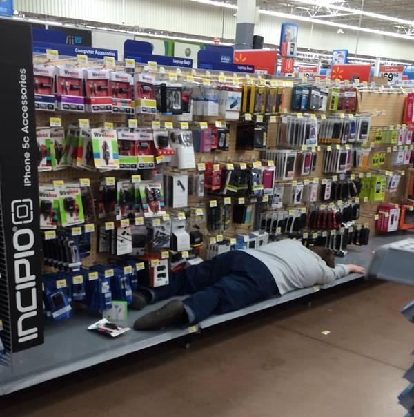 Walmart Nap