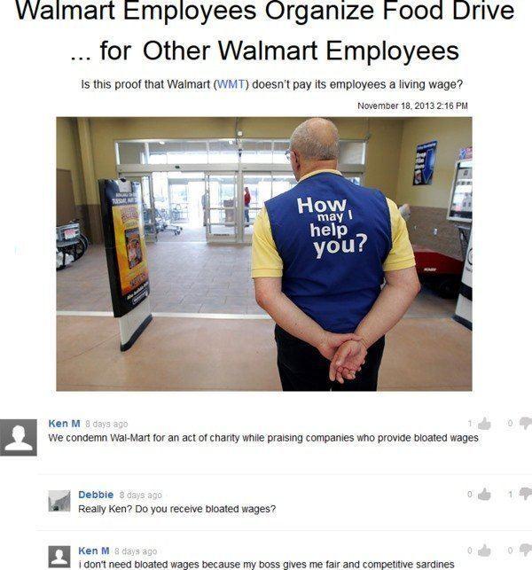 Walmart Troll