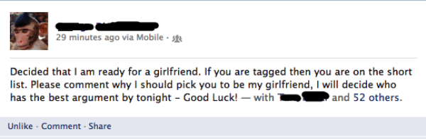 Awkward Moments On Facebook Girlfriend Tag