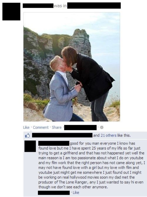 Awkward Moments Facebook Comment