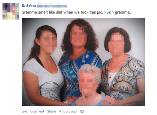 Awkward Moments On Facebook Grams