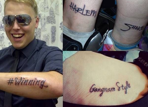 Awkward Moments Terrible Tattoos
