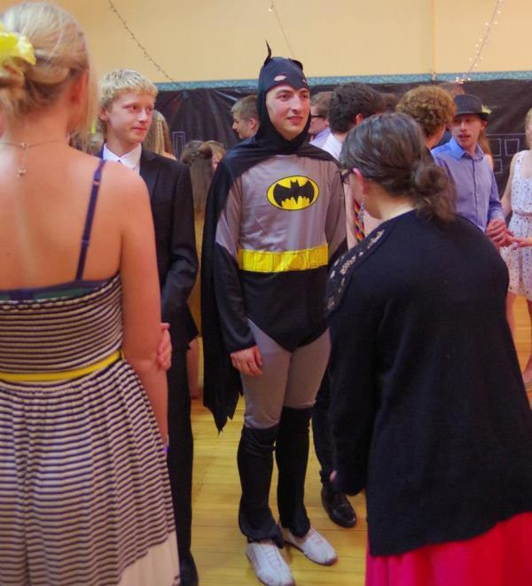 Batman Goes To Prom