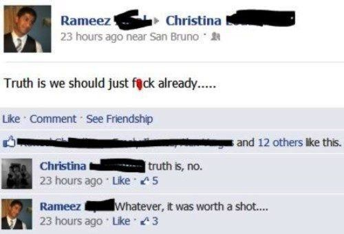 Breaking Through The Friendzone Fail