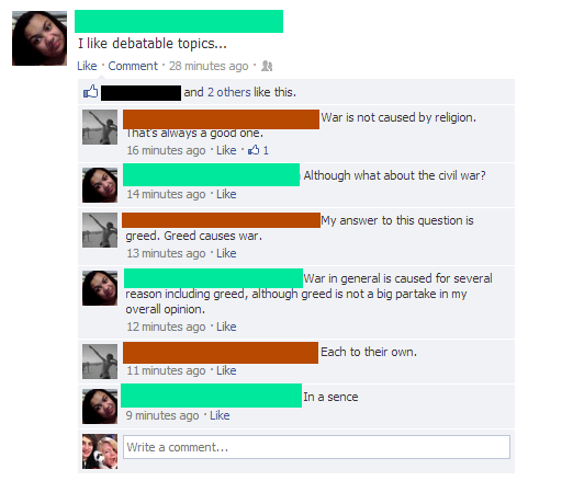 Dumbest Conversation Ever