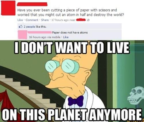 Dumbest Facebook Posts Atoms