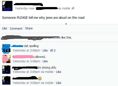 Dumbest Facebook Posts Jews