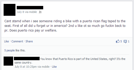 Puerto Rico Dumbest Things On Facebook
