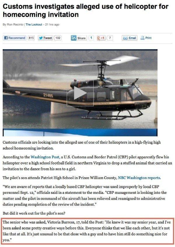 Helicopter Friendzone