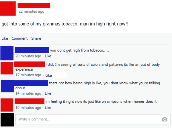 High On Tobacco