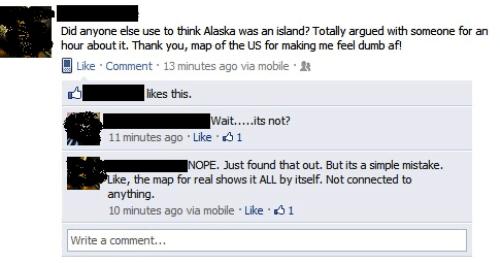 Is Alaska An Island