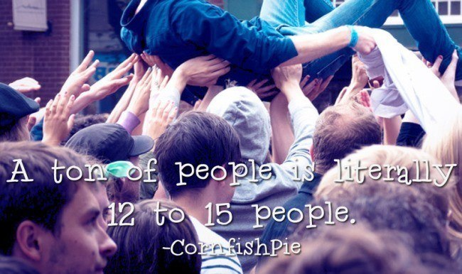 A Ton Of People