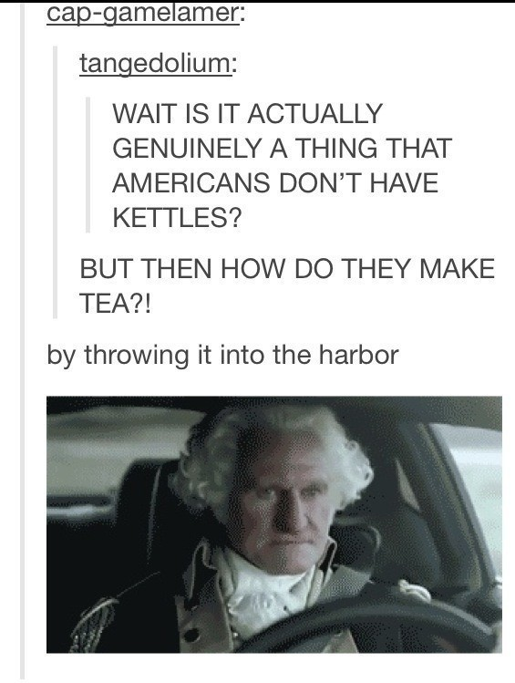 Americans And Tea