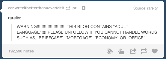 Best Of Tumblr Adult Language