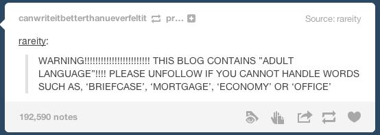 Best Of Tumblr Adult Language