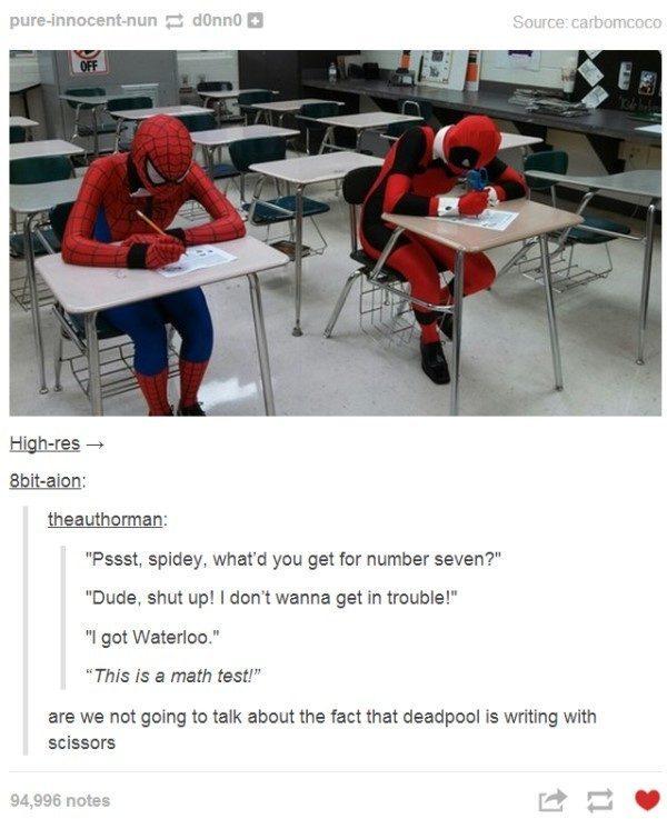 Best Of Tumblr Superhero Tests