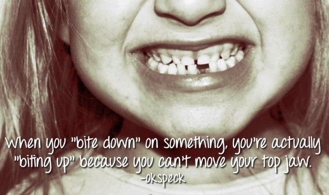 Biting Down
