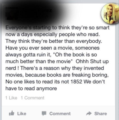 Books Are Stupid