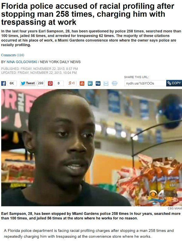 Florida Racist Police