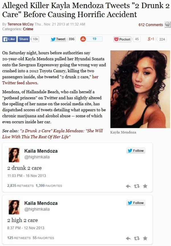 Florida Woman 2 Drunk 2 Care Tweet