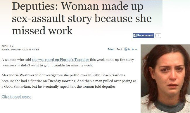 Florida Woman Makes Up Assault