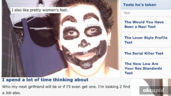 Online Dating Unemployed Juggalo
