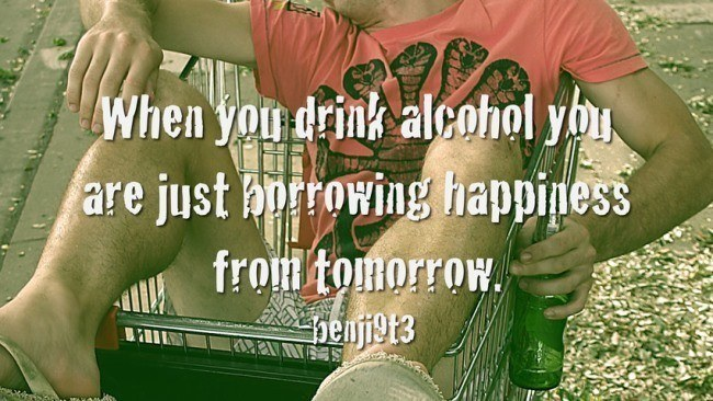 Shower Thoughts Alcohol
