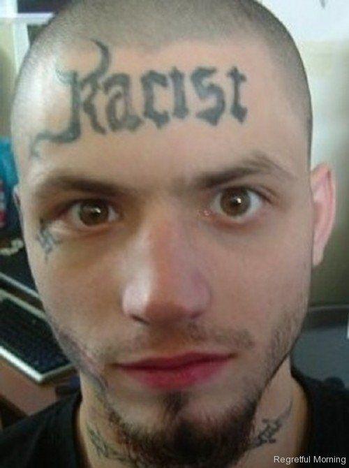 Tattoo Fails Face Tattoo