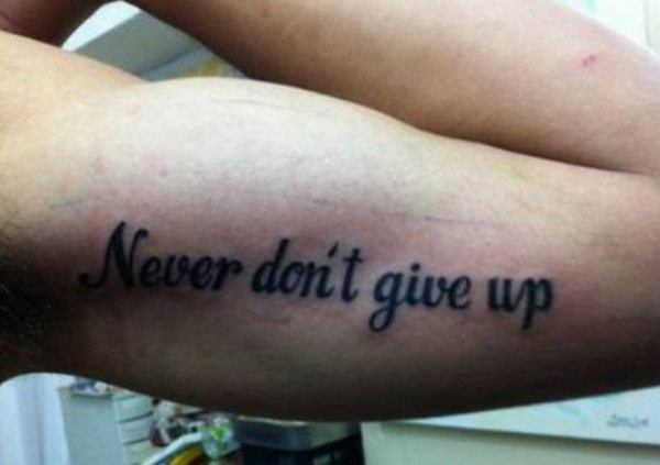 Tattoo Fails Misspelling