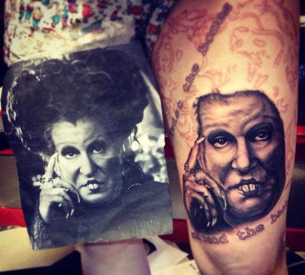 Weird Tattoo