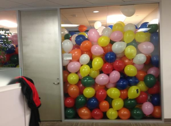 April Fools Pranks Balloons