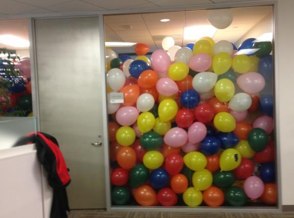 April Fools Pranks Balloons