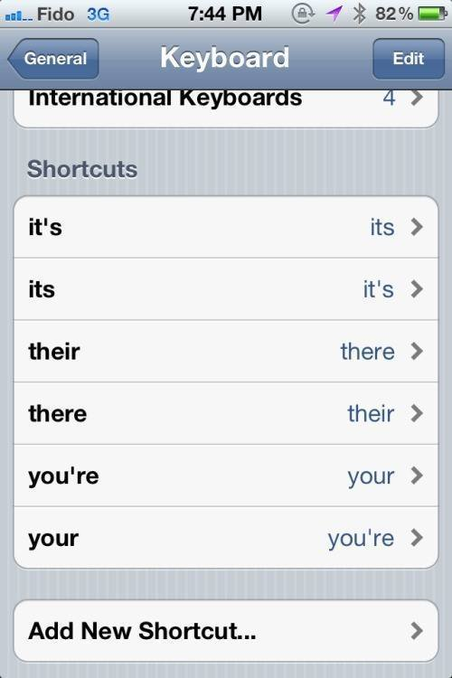 Auto Correct Bad Grammar