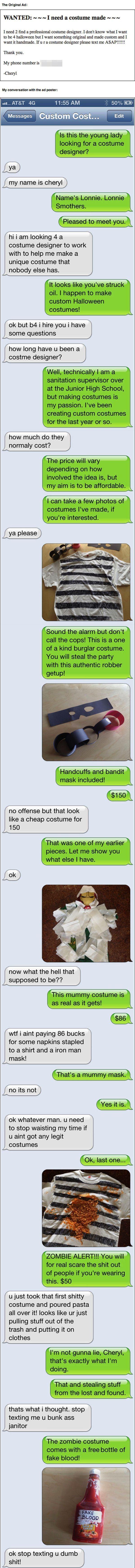 Craigslist Text Prank