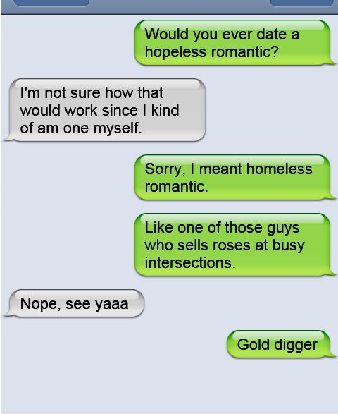 Homeless Romantic