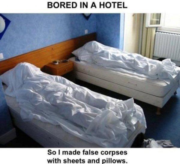 Hotel Prank