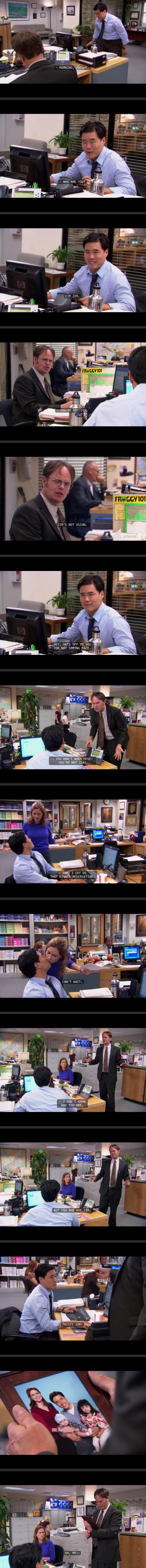 Jim Pranks Dwight