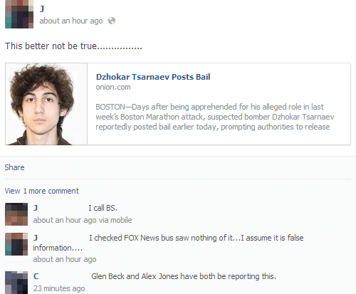 Literally Unbelievable Onion Article About The Boston Bomber